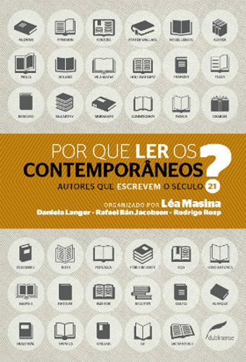 Capa de Livro: Por que ler os contemporâneos?