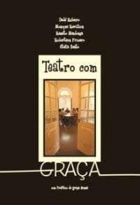 Capa de Livro: Teatro com Graça
