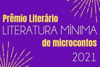 Prêmio Literatura Mínima - Card de Divulgação