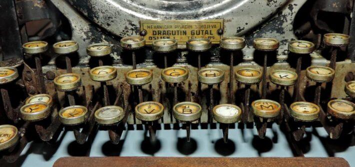 Máquinha de escrever