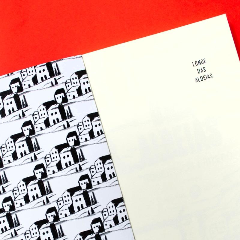 Primeira página da segunda edição de Longe das Aldeias