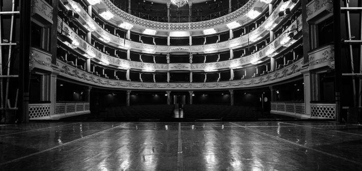Palco do teatro de Modena
